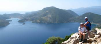 Magnificent views in the Ionian Islands
