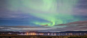 The Northern Lights on display in Iceland