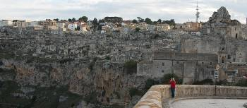 Viewpoint of Matera and the Sassi cave dwellings | Ross Baker