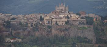 The Cathedral in Orvieto dominates the city | Brad Atwal