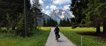 Cycling near the Three Peaks of Lavaredo in the Dolomites | Rob Mills