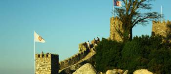 The ramparts of the Castle of the Moors, one of Sintra's most visited attractions | Linda Murden