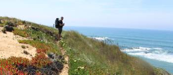 Hiker on the Rota Vicentina in western Portugal | Tee Travel