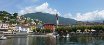 Lake Maggiore is a highlight of the Ticino region