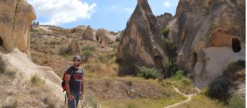 A walker in Cappadocia | Erin Williams