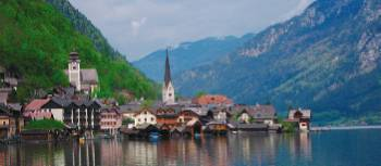 The picturesque village of Hallstatt