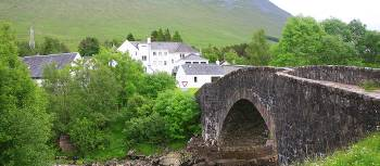 Bridge of Orchy, West Highland Way Scotland