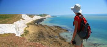 Looking towards the Seven Sisters, South Downs Way | John Millen