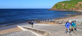 Setting off on the Coast to Coast from St Bees | John Millen